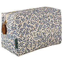 Buy Heathcote & Ivory Morris & Co Love Is Enough Large Cosmetic Bag Online at johnlewis.com