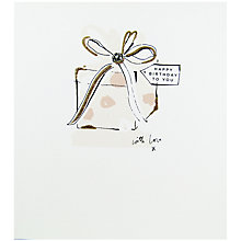 Buy The Proper Mail Company Present Happy Birthday Card Online at johnlewis.com