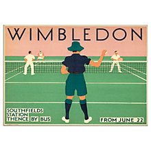 Buy London Transport Museum - Wimbledon Unframed Print, 30 x 40cm Online at johnlewis.com