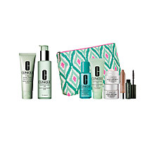 Buy Clinique Facial Soap and 7 Day Scrub Cream with Dramatic Eyes Free Gift with Purchase Online at johnlewis.com