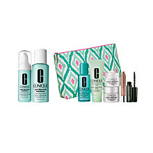 Buy Clinique Cleansing Foam and Clarifying Lotion with Dramatic Eyes Free Gift with Purchase Online at johnlewis.com