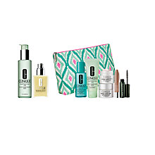 Buy Clinique Facial Soap and Moisturising Lotion with Dramatic Eyes Free Gift with Purchase Online at johnlewis.com