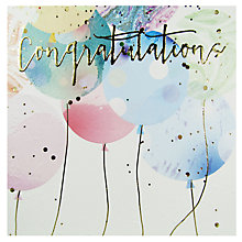 Buy Mint Congratulations Greeting Card Online at johnlewis.com