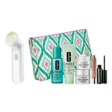 Buy Clinique Sonic System Cleansing Brush with Dramatic Eyes Free Gift with Purchase Online at johnlewis.com