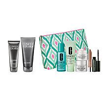 Buy Clinique For Men Face Wash and Moisturising Lotion with Dramatic Eyes Free Gift with Purchase Online at johnlewis.com