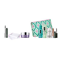 Buy Clinique Mascara, Muslin Cloth and Cleansing Balm with Dramatic Eyes Free Gift with Purchase Online at johnlewis.com