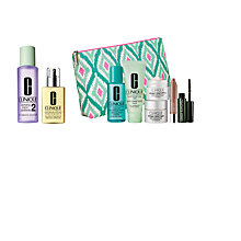 Buy Clinique Clarifying Lotion and Moisturising Lotion with Dramatic Eyes Free Gift with Purchase Online at johnlewis.com