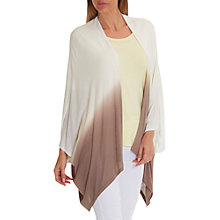Buy Betty Barclay Fine Ombre Kimono Wrap, Cream/Taupe Online at johnlewis.com