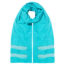 Buy East Slinky Scarf, Aqua Online at johnlewis.com