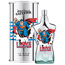 Buy Jean Paul Gaultier Le Male Superman Eau Fraiche, 125ml Online at johnlewis.com