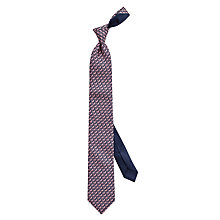 Buy Thomas Pink Giraffe Print Woven Silk Tie Online at johnlewis.com