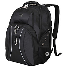 Buy Wenger ScanSmart Laptop Backpack, Black Online at johnlewis.com