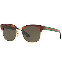 Buy Gucci GG0056S Oval Sunglasses Online at johnlewis.com