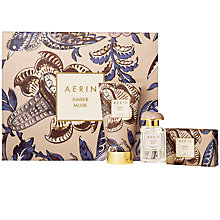 Buy AERIN Amber Musk Collection Fragrance Gift Set Online at johnlewis.com