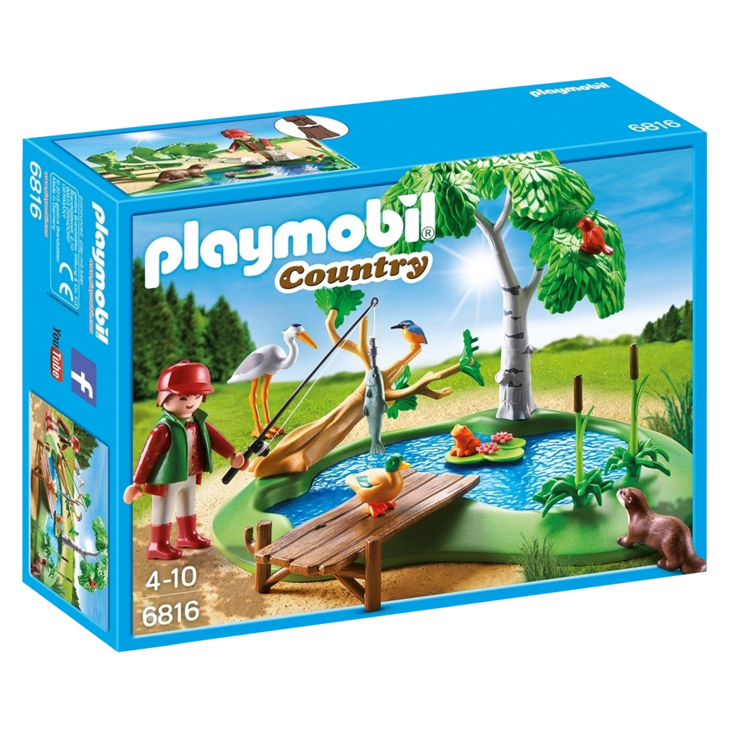 PLAYMOBIL Playmobil Country Fishing Pond