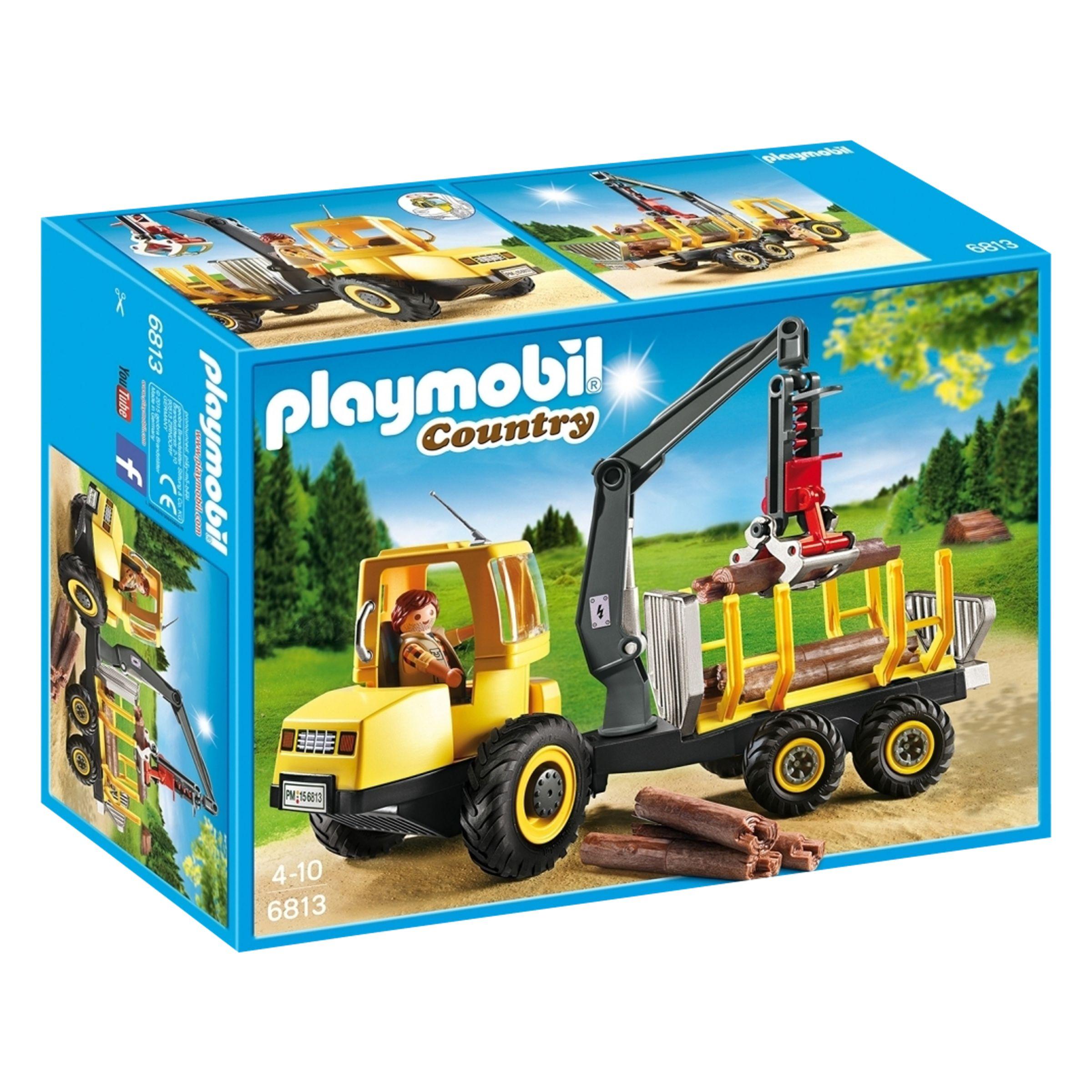 PLAYMOBIL Playmobil Timber Transporter with Crane