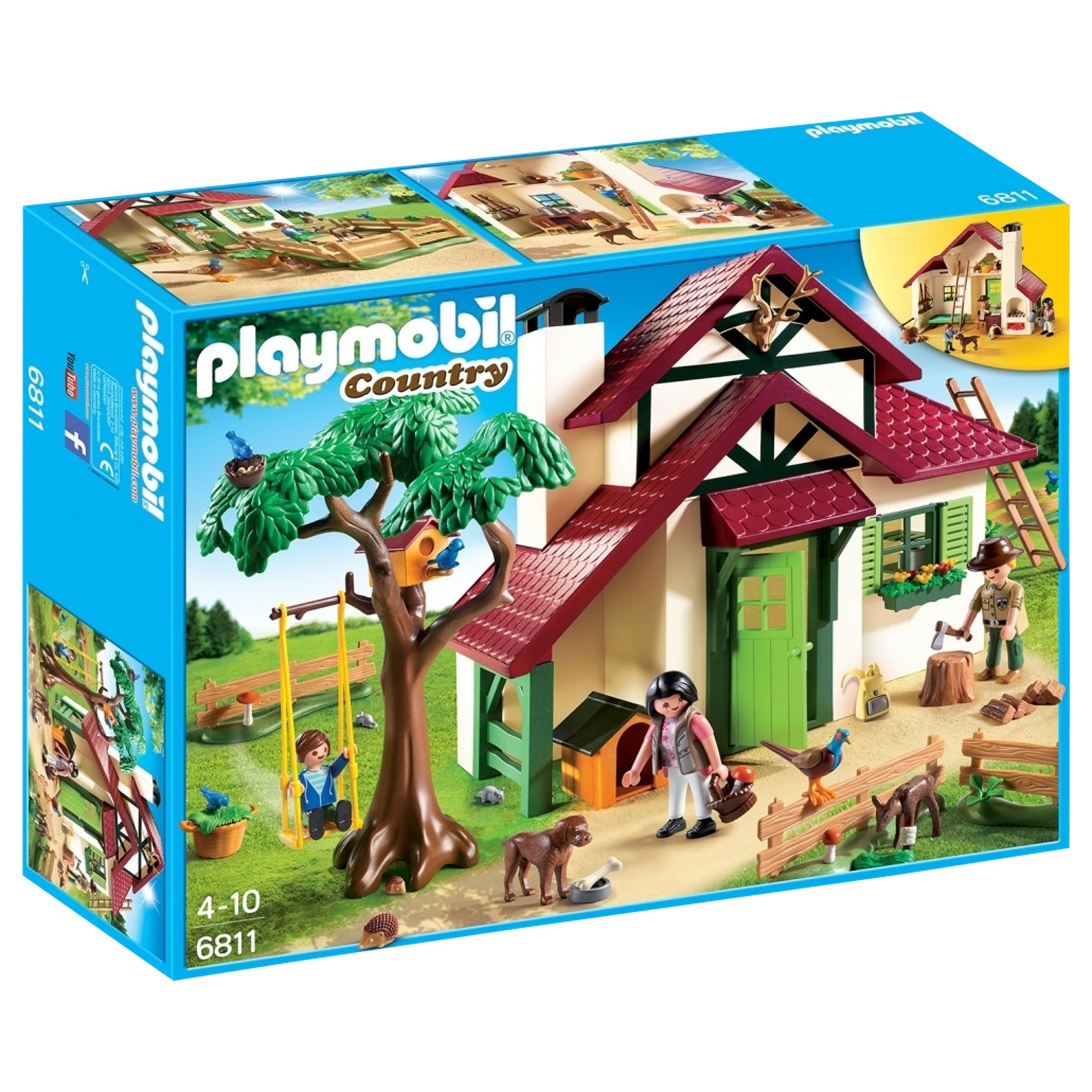 PLAYMOBIL Playmobil Country Forest Rangers House