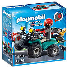 Buy Playmobil City Action Robbers' Quad with Loot Online at johnlewis.com