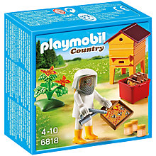Buy Playmobil Country Beekeeper and Hive Online at johnlewis.com