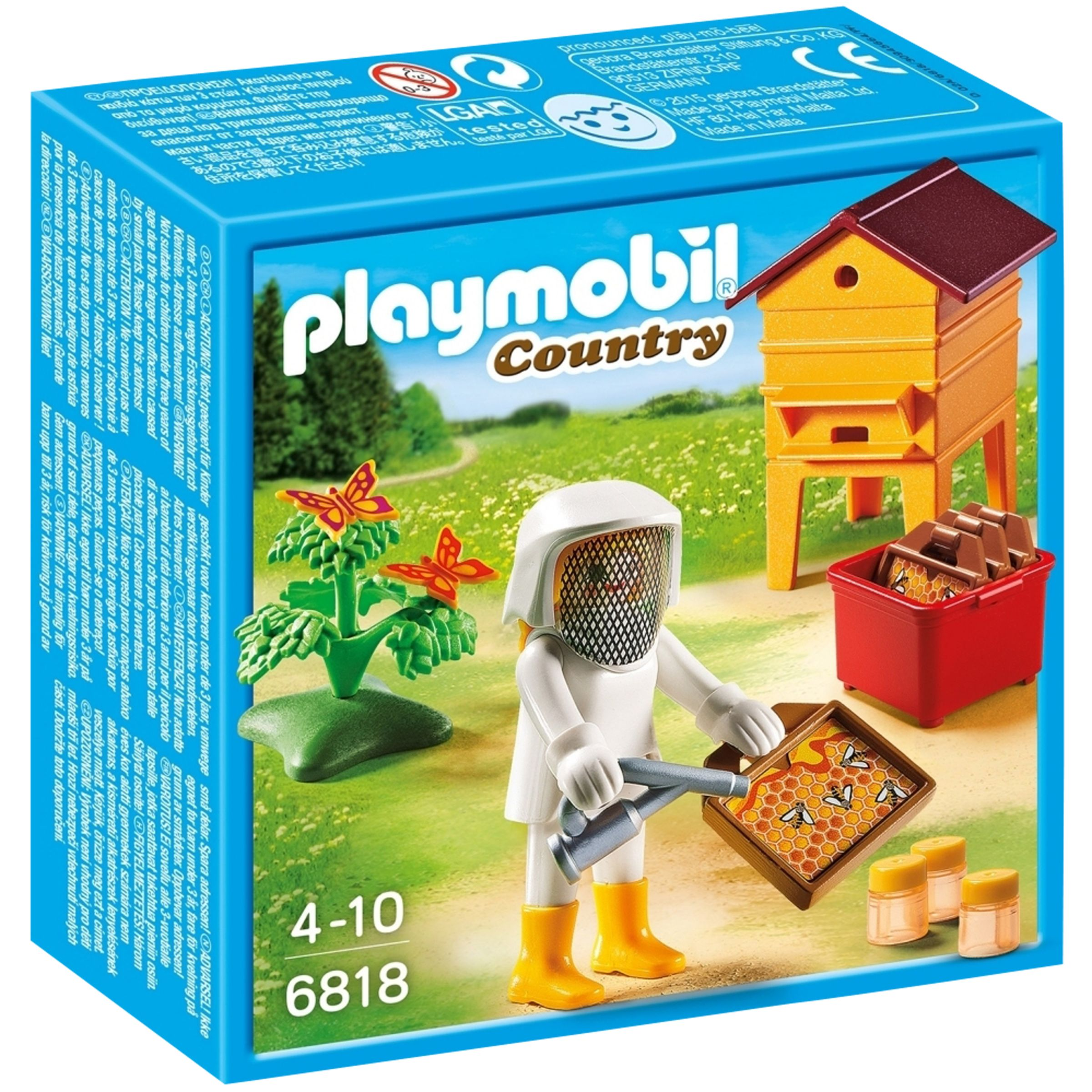 PLAYMOBIL Playmobil Country Beekeeper and Hive