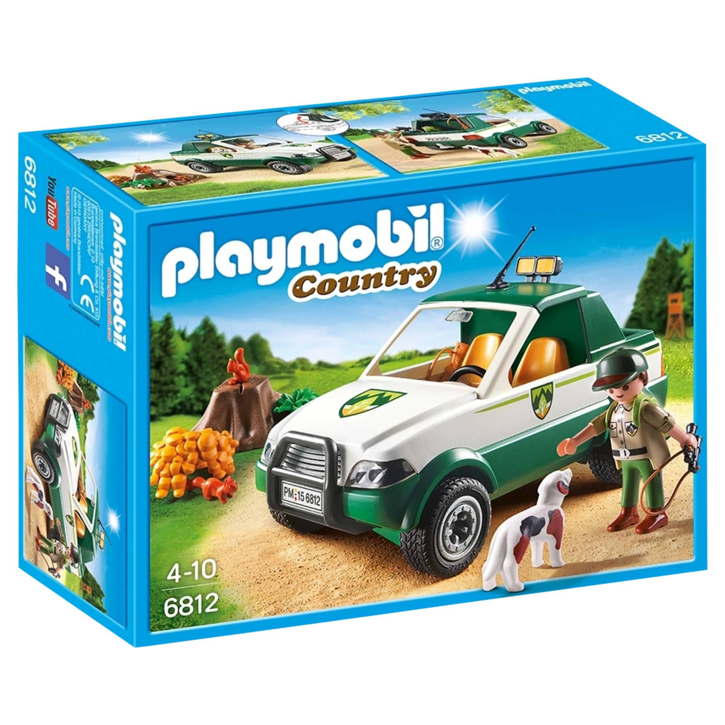 PLAYMOBIL Playmobil Country Forest Pick Up Truck