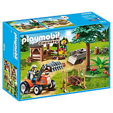 Buy Playmobil Country Lumber Yard & Tractor Online at johnlewis.com