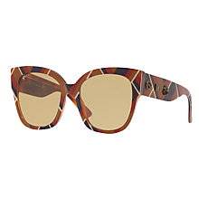 Buy Gucci GG0059S Square Sunglasses, Multi/Beige Online at johnlewis.com