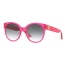 Buy Gucci GG0035S Oval Sunglasses Online at johnlewis.com