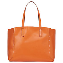 Buy Gerard Darel Le Simple Two Tote Bag, Orange Online at johnlewis.com