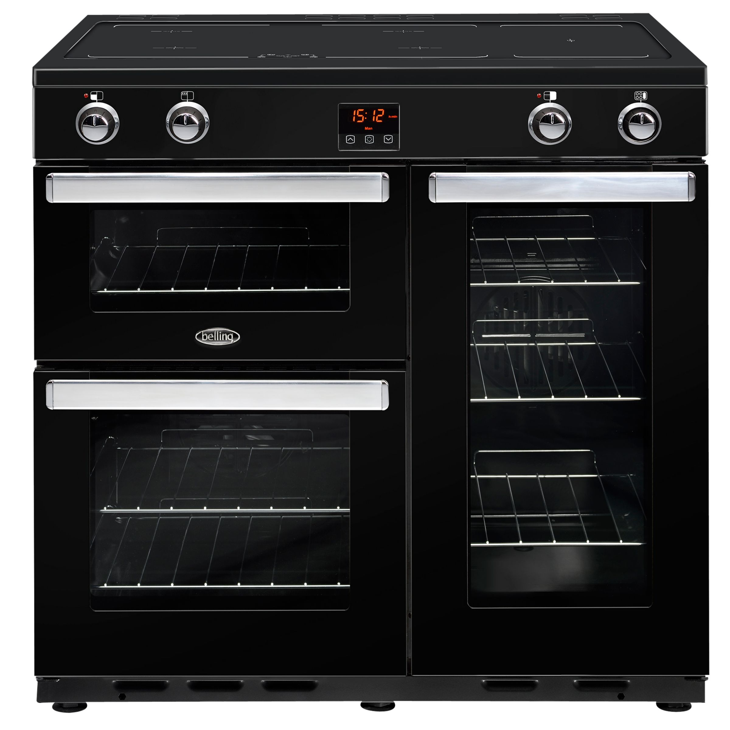Belling Belling Cookcentre 90EI Electric Range Cooker With Induction Hob