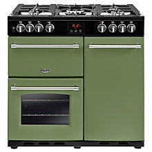 Buy Belling Farmhouse 90DFT Dual Fuel Range Cooker Online at johnlewis.com