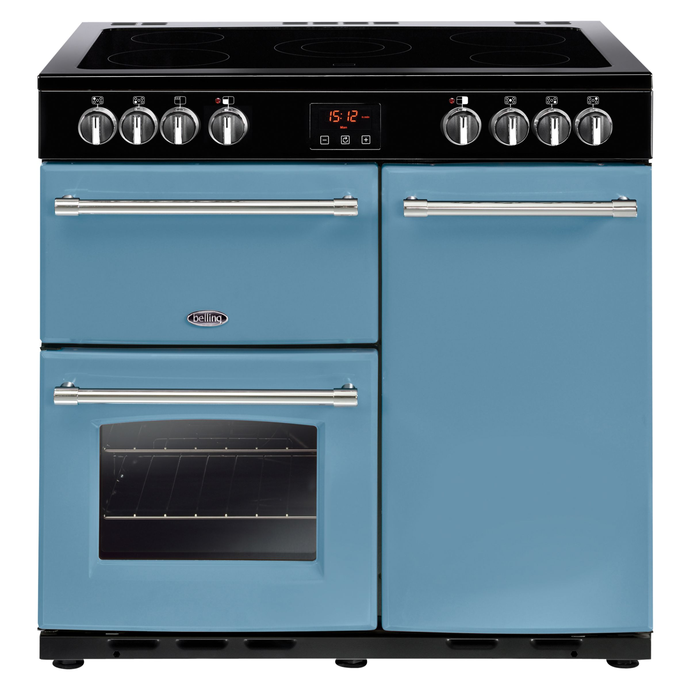 Belling Belling Farmhouse 90E Electric Range Cooker with Ceramic Hob