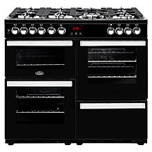 Buy Belling Cookcentre 100DFT Dual Fuel Range Cooker Online at johnlewis.com