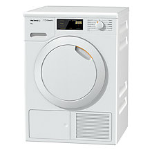 Buy Miele TDB120WP Heat Pump Freestanding Tumble Dryer, 7kg Load, A++ Energy Rating, White Online at johnlewis.com