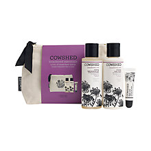 Buy Cowshed Knackered Essentials Natural Bag Gift Set Online at johnlewis.com