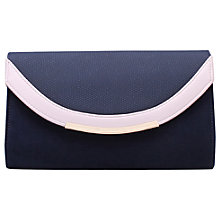 Buy Miss KG Harry Clutch Bag , Nude Online at johnlewis.com