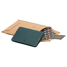 Buy Bellroy Leather Card Holder, Teal Online at johnlewis.com