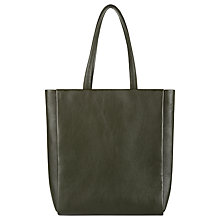 Buy Jaeger Icon Leather Large Tote Bag Online at johnlewis.com