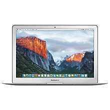 "Buy Apple MacBook Air, Intel Core i7, 8GB RAM, 128GB Flash Storage,13.3"" Online at johnlewis.com"