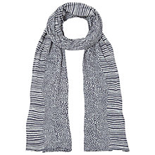 Buy White Stuff Suqi Spot Scarf, Grey Online at johnlewis.com