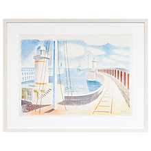 Buy Eric Ravilious - Newhaven Harbour Framed Print, 52 x 66cm Online at johnlewis.com