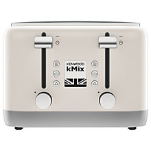 Buy Kenwood kMix TFX750 4-Slice Toaster Online at johnlewis.com