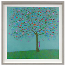 Buy Emma Brownjohn - Magic Tree Framed Print, 50 x 50cm Online at johnlewis.com
