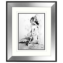 Buy Joanne Boon Thomas - Solitary Figurative Study II Framed Print, 60 x 50cm Online at johnlewis.com