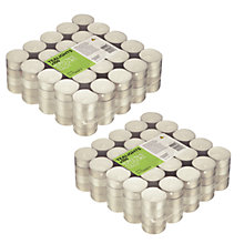 Buy John Lewis The Basics 100 Tealights, Set of 2 Online at johnlewis.com