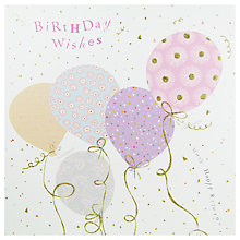 Buy Woodmansterne Balloons Birthday Card Online at johnlewis.com