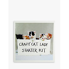 Buy Woodmansterne Crazy Cat Lady Greeting Card Online at johnlewis.com