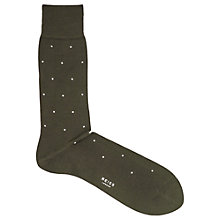 Buy Reiss Mario Polka Socks, One Size Online at johnlewis.com