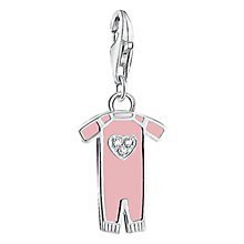 Buy Thomas Sabo Baby Girl Charm, Pastel Pink Online at johnlewis.com