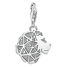 Buy Thomas Sabo Lion Charm, Silver Online at johnlewis.com